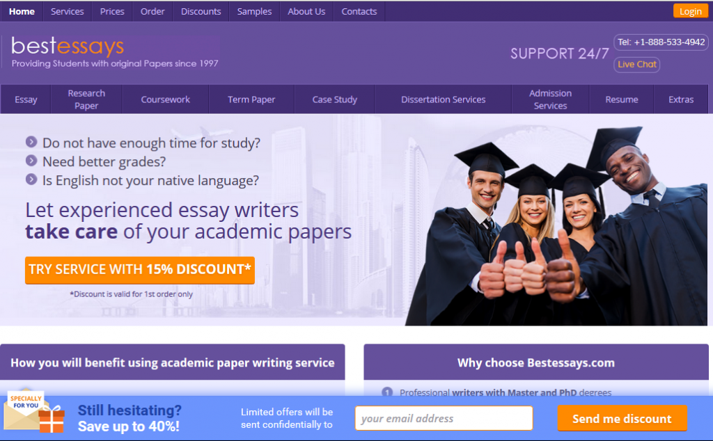 Best thesis writing websites