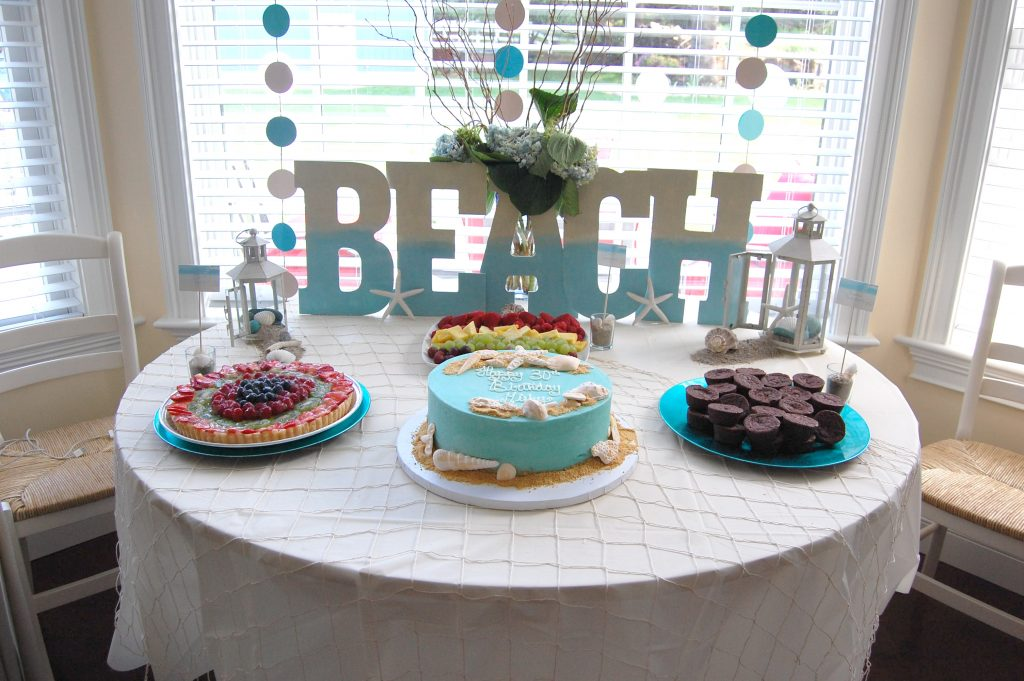 Beach Themed Birthday Party for Preschoolers