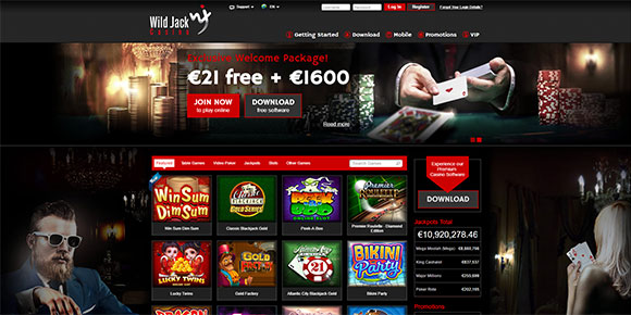 Wild Jack Mobile Casino Review:: Mobile Casino Guide